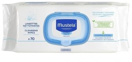 MUSTELA DERMO-SOOTHING WIPES 70τεμ.