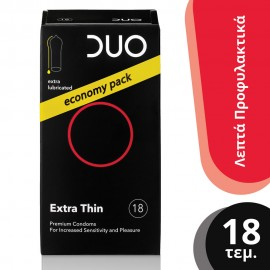 DUO EXTRA THIN ΠΡΟΦΥΛΑΚΤΙΚΑ 18τεμ.