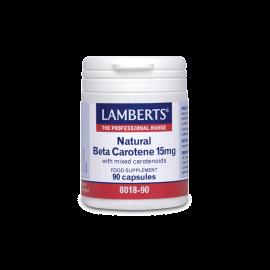 LAMBERTS NATURAL BETA CAROTENE15mg 90cap …