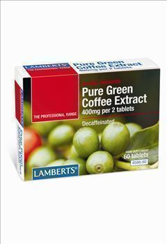 LAMBERTS PURE GREEN COFFEE EXTRACT 60tab …
