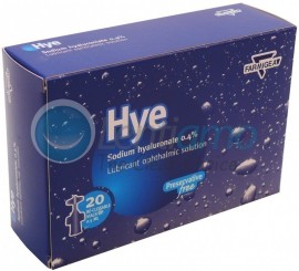 MAXYN OPHTHALMICS HYE 20 SDUX0,5ml