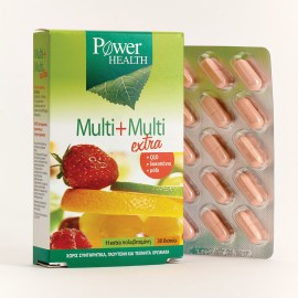 POWER HEALTH POWER MULTI+MULTI EXTRA 30t …