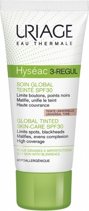 HYSEAC 3-REGUL GLOBAL TINTED SKIN SPF30 …