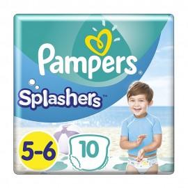 PAMPERS ΠΑΝΕΣ SPLASHERS No5-6 (14+kg) 10 …
