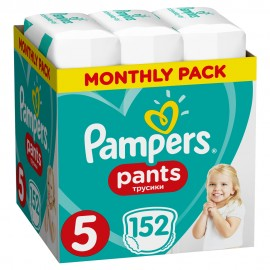 PAMPERS PANTS No5 (12-17kg) MONTHLY PACK …