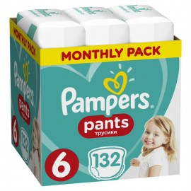 PAMPERS PANTS No6 (15+kg) MONTHLY PACK 1 …