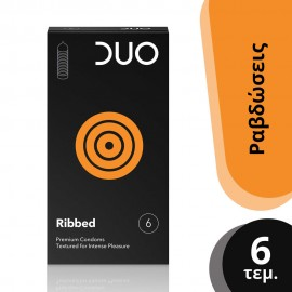 DUO RIBBED 6τεμ.