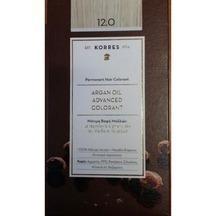 KORRES ARGAN OIL ADVANCED COLORANT 12.0 …