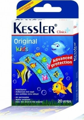 KESSLER CLINICA ORIGINAL STRIPS KIDS FIS …