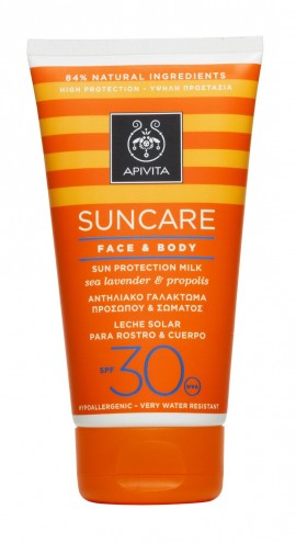 APIVITA SUNCARE FACE & BODY MILK SPF30 1 …