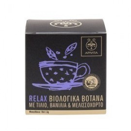 APIVITA ORGANIC HERBAL TEA RELAX 10ΦΑΚ.