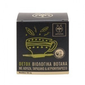 APIVITA ORGANIC HERBAL TEA DETOX 10ΦΑΚ.