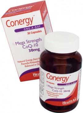 HEALTH AID CONERGY CO Q10 30mg 90caps