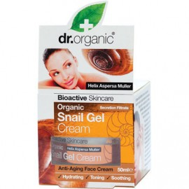 DR.ORGANIC SNAIL GEL ANTI AGEING FACE CR …