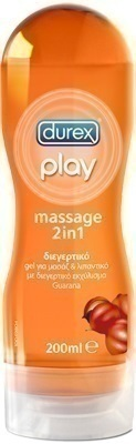 DUREX PLAY MASSAGE 2IN1 GUARANA 200ml