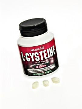 HEALTH AID L-CYSTEINE 550mg 30tabs