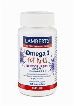 LAMBERTS OMEGA 3 FOR KIDS 30caps