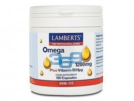 LAMBERTS OMEGA 3 6 9 120caps