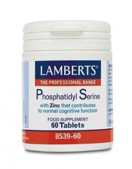LAMBERTS PHOSPHATIDYL SERINE 100mg 60tab …