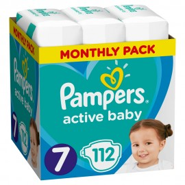 PAMPERS ACTIVE BABY No7 (15+Kg) MONTHLY …