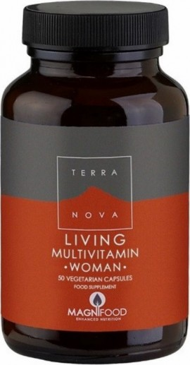 TERRANOVA LIVING MULTIVITAMIN WOMAN 50ca …