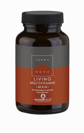 TERRANOVA LIVING MULTIVITAMIN MAN 50caps