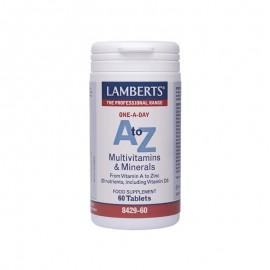 LAMBERTS A-Z MULTIVITAMINS & MINERALS 60 …