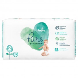 PAMPERS PURE PROTECTION No2 (4-8kg) 39τμ …