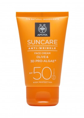 APIVITA SUNCARE ANTI-WRINKLE FACE CREAM …