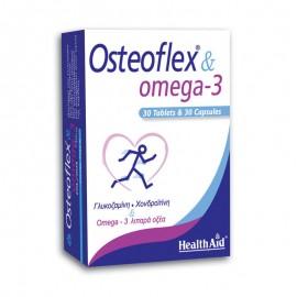 HEALTH AID OSTEOFLEX & OMEGA-3 30tabs & …