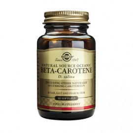 SOLGAR BETA-CAROTENE 7mg 60softgels