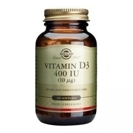 SOLGAR VITAMIN D3 400i.u. 100softgels