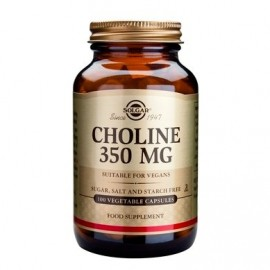 SOLGAR CHOLINE 350mg 100vcaps