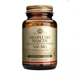 SOLGAR NO FLUSH NIACIN 500mg 50vcaps