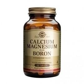 SOLGAR CALCIUM MAGNESIUM PLUS BORON 100t …