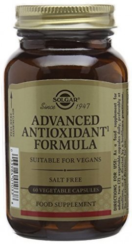 SOLGAR ADVANCED ANTIOXIDANT FORMULA 60ca …