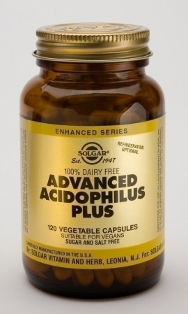 SOLGAR ADVANCED ACIDOPHILUS PLUS 120vcap …