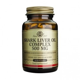 SOLGAR SHARK LIVER OIL COMPLEX 500mg 60c
