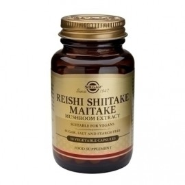 SOLGAR REISHI SHIITAKE MAITAKE 50vcaps
