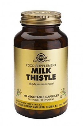 SOLGAR MILK THISTLE 100mg 100vcaps