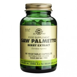 SOLGAR SAW PALMETTO BERRY EXTRACT 60vcap …