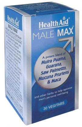 HEALTH AID MALE MAX 30vegitabs