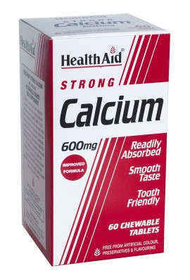 HEALTH AID STRONG CALCIUM 600mg 60tabs
