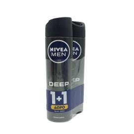 NIVEA MEN DEO DEEP SPRAY 150ml 1+1 ΔΩΡΟ