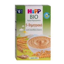HIPP ΒΡΕΦΙΚΗ ΚΡΕΜΑ ΜΕ 5 ΔΗΜΗΤΡΙΑΚΑ, ΧΩΡΙ …