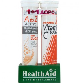 HEALTH AID A-Z ACTIVE MULTI +Q10 20αναβρ …