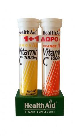 HEALTH AID VITAMIN C 1000mg ΛΕΜΟΝΙ 20 αν …