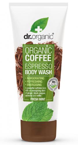 DR. ORGANIC COFFEE MINT BODY WASH 200ml