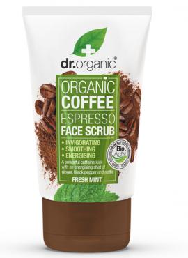 DR.ORGANIC COFFEE MINT FACE SCRUB 125ml