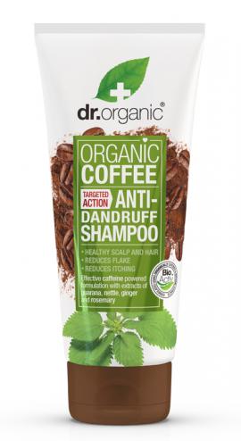 DR. ORGANIC COFFEE ANTI DANDRUFF SHAMPOO …